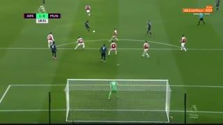 خلاصه دیدار آرسنال 2_0 منچستر یونایتد (هفته سیام لیگ برتر انگلیس)