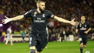 گل دوم رئال مادرید به رئال وایادولید توسط کریم بنزما