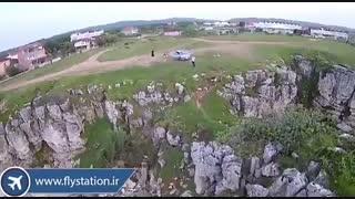 تست پرواز کوادکوپتر سایما x8pro/ایستگاه پرواز