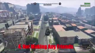 بزرگترین اشتباهات در GTA online