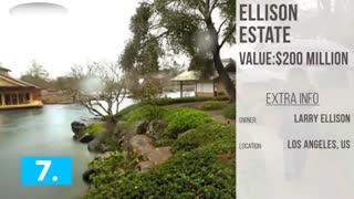 تاپ تایم- 10 خانه گرانقیمت دنیا