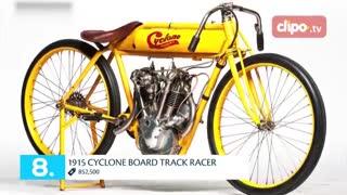 تاپ تایم - 10 موتورسیکلت گرانقیمت دنیا