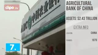 تاپ تایم - 10 بانک ثروتمند دنیا