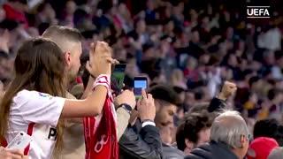 دور رفت مرحله یکهشتم نهایی لیگ اروپا در 90 ثانیه