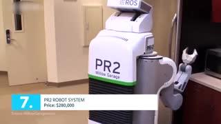 تاپ تایم - 10 ربات گرانقیمت دنیا