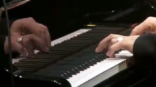 کنسرت لودویکو اناودی آهنگ ساز ایتالیایی در رویال آلبرت هال لندن - Divenire