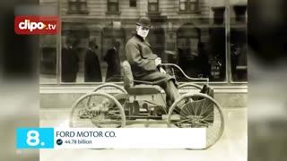 تاپ تایم - 10 کمپانی خودرو سازی ثروتمند دنیا