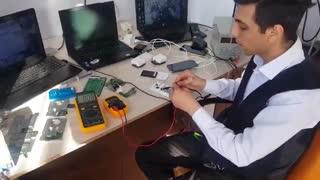 test amper by mahdi roohi