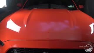 تست AntiGraffiti و اتش پوشش سرامیک خودرو سیستمx