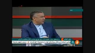چرا ۲۰ هزار تن #گوشت منجمد در #گمرک توقیف شده است   دبیر ستاد #تنظیم_بازار توضیح میدهد.