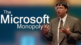 مایکروسافت بر اریکهی انحصار