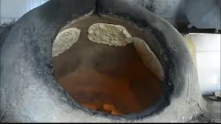 مستند پخت نان بومی روستاییwww.sabadsalva.ir