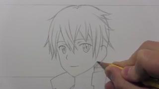 آموزش کشیدن کیریتو از انیمه Sword Art Online