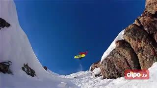 هیجان اسنوبورد در کوه های کلورادو