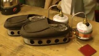 خلاقیت های ماجراجویانه کالین: دمپایی بخاری