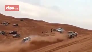 رقابت نیسان و تویوتا در صحرا