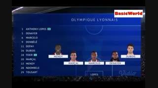 خلاصه دیدار بارسلونا 5_1 المپیک لیون (مرحله 1/8 نهایی لیگ قهرمانان اروپا)