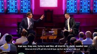 مناظره مجری الجزایر با دنی آیالون درباره انرژی هسته ای ایران