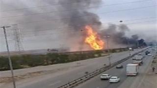 انفجار مهیب لولههای گاز در اهواز با ۵ کشته