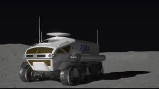 رونمایی تویوتا از طرح مفهومی ماهنورد آژانس کاوشهای هوافضای ژاپن