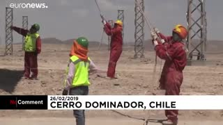 نیروگاه حرارتی خورشیدی شیلی در زمینی به وسعت یکهزار هکتار…