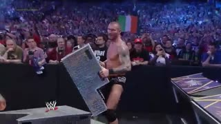 مسابقه Daniel Bryan مقابل Randy Orton مقابل Batista در Wrestlemania 30