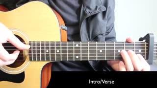 Ed Sheeran - Lego House  آموزش گیتار آهنگ های ادشیرن