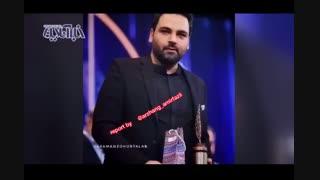کنایه بامزه ارژنگ امیرفضلی به اهدای جوایز در جشنواره جام جم!