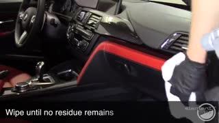 اسپری پوشش نانو سرامیک داخل کابین خودرو سیستم ایکس