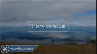 دوبله فارسی آموزش کار با کنترلر کوادکوپتر دیجی اسپارک/ایستگاه پرواز