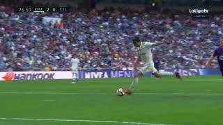 گل دوم رئال مادرید به سلتاویگو توسط گرت بیل