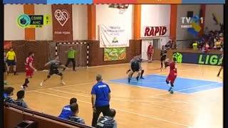دیدار تیم های چسمه بخارست و کالاراسی درزیمبریلور لیگ هندبال رومانی 2018/19