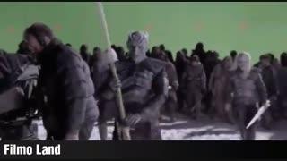 ❄️ نگاهی به مراحل آماده سازی و گریم بازیگران سریال بازی تاج و تخت Game of Thrones  ❄