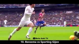 15 گل برتر رئال مادرید در زمان سرمربیگری زیدان