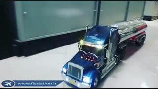 تریلی فوق حرفه ای Tractor Truck Knight Hauler/ایستگاه پرواز