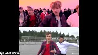 ('K-POP WITH ZERO BUDGET! (BTS- 'NOT TODAY کاور بسیار خنده دار Not Today از جاستین و آدام