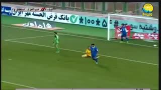 خلاصه دیدار ذوبآهن 2_0 استقلال خوزستان (هفته 22 لیگ برتر ایران)