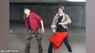 ('K-POP WITH ZERO BUDGET! (BTS- 'MIC DROP کاور بسیار خنده دار Mic Drop از جاستین و آدام