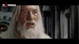 سکانس ارباب حلقهها سه ، ملاقات گندالف با دنتور در قلعه های گاندور