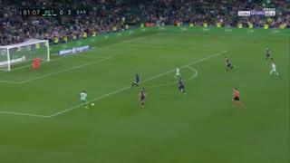 گل اول بتیس به بارسلونا توسط مورون