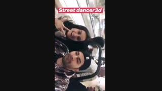 استوری وارون وشردا برای فیلم رقصنده های خیابانی ۳