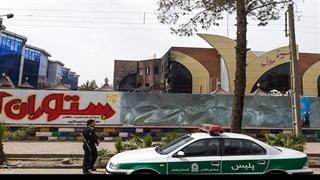 آتشسوزی گسترده در سینمای زاهدان