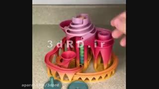 ساخت قطعات سرگرمی کودکان با  پرینترهای سه بعدی شرکت 3dRD