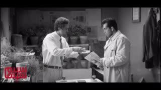بخشی از فیلم «غلامرضا تختی» با بازی محسن تختی و مجتبی پیرزاده
