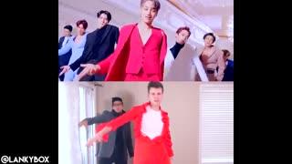 (K-POP WITH ZERO BUDGET! (EXO - Love Shot کاور بسیار خنده دار Love Shot از جاستین و آدام
