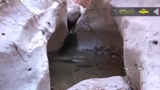 سنگ آبها جاذبه ای طبیعی در دل کویر بافق یزد