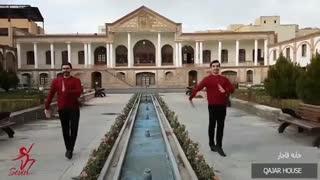 رقص آذربایجانی گروه سوین در تبریز