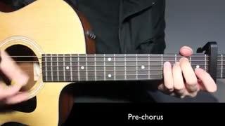 Ed Sheeran - DIVE  آموزش گیتاراهنگهای ادشیرن بسیار قطعه ی زیباشنیدنی