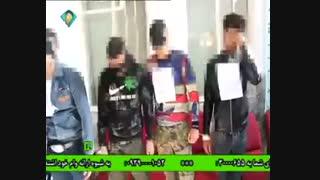 دستگیری و اعدام زورگیراز مغازها//