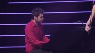 اجرای زنده اهنگ تایتانیک کنسرت کارولین کمبل